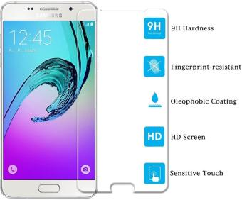 Ueokeird 9H HD Clear Tempered Glass Screen Protector Film For Samsung Galaxy A5 2016 - intl