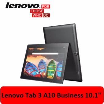 Harga Lenovo Tab3 10 Business TB3-X70L 32GB ROM (SLATE BLACK) 10.1INCH FULL HD SINGLE MICRO SIM 4G LTE( DATA ONLY) 2GB RAM 7000MAH ANDROID(Black 32GB)