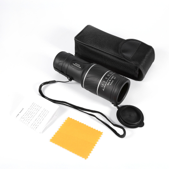 Harga 40 x 60 HD Vision Telescope Pocket Focus Monocular Night Vision Green Film Optics Monocular - intl