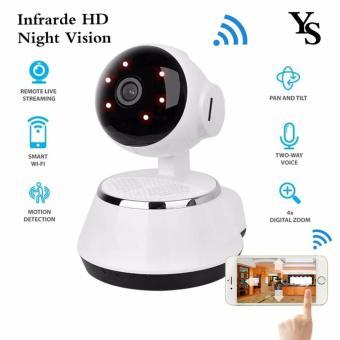 Harga Hot Selling Wireless Home Security WiFi USB Baby Monitor Alarm IP Camera HD 720P Audio Infrarde HD Night Vision