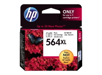 Harga Original HP 564XL Photo Black Ink Cartridge for HP OJ 4610/4620/4622, 290 Pages