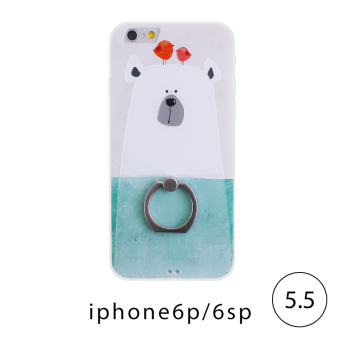 Harga Iphone6s hidog apple phone shell lanyard ring 6splus soft edge sets new cartoon small fresh 7 p