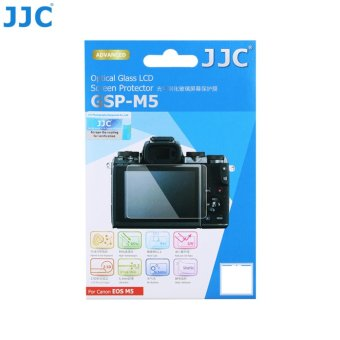 Harga JJC GSP-M5 Optical Glass LCD Screen Protector for Canon EOS M5 - intl