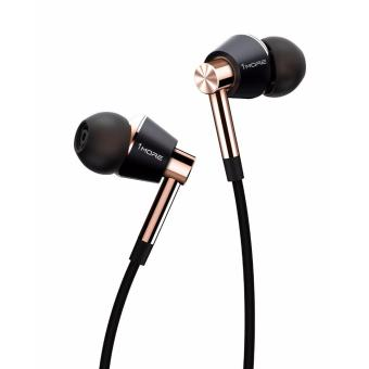 Harga 1MORE E1001 Triple Driver In-Ear Headphones (Gold)