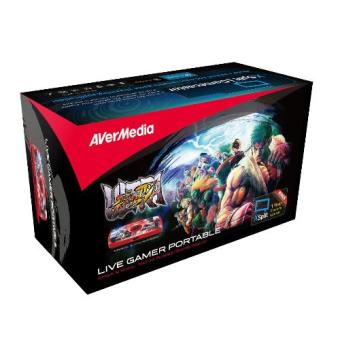 Harga AVerMedia Live Gamer Portable Street Fighter IV ,Game Capture Recorder with Streaming (GL710)