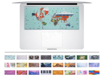 "HRH World's Flag Rubber US Keyboard Cover Keypad Skin potective film for Apple Macbook Pro Air Retina 13"" 15"" 17"""