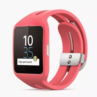 Harga Sony SmartWatch 3 SWR50 Android 4.3 NFC IP68 GPS 4 GB - [Pink] - intl