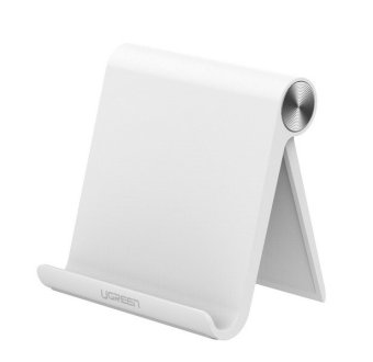 Harga Ugreen Bianca Universale Del Telefono Mobile Del Basamento Flessibile Desk Phone Holder Per iPad iPhone Sony Nokia HTC Cellulare E Tablet Stand(white) - intl