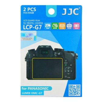 Harga JJC LCD Guard Film Screen Protector for PANASONIC LUMIX DMC-G7 GX7 M2 G8 G80 G85 - intl