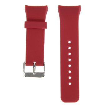 Silicone Watch Band Strap For Samsung Galaxy Gear S2 SM-R720(Red) - intl