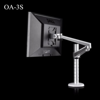 Harga Wego fashion,high-quality,OA-3S Height Adjustable TV Mount Monitor Holder Aluminum Alloy Adjust Long Arm 360 Degree Rotatable LCD Monitor Desktop Stand - intl