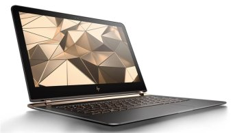 "Harga HP Spectre V023TU 13"" FULL HD 256GB SSD i5-6200U 8GB W10 Laptop -( Ash Copper )"