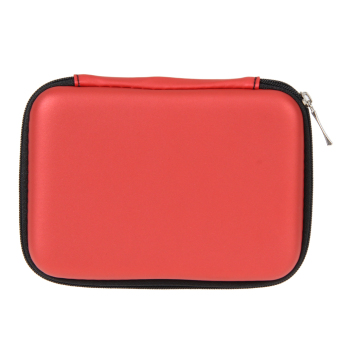 Harga +ACI-Vakind 2.5+ACIAIg- External USB Hard Drive Disk Carry Case Cover Pouch Bag for PC (Red) +ACI- - intl