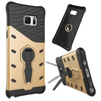 Harga Multifonction Armor case for Samsung galaxy A7 2017 with kickstand rotation holder stand 2 in 1 Silicone protector - intl
