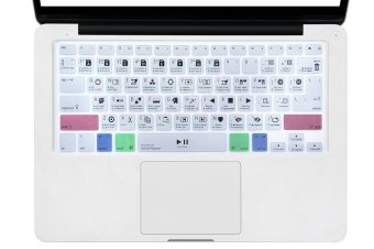 HRH DaVinci Resolve Shortcuts Hotkeys Design Silicone Keyboard Skin Cover for Macbook Pro Air Retina 13 15 17 US EU Layout (EXPORT)