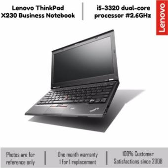 Harga Lenovo Thinkpad X230 Laptop | 4GB DDR3 | 128GB SSD | Win 10 | 12.5'' | Intel Core i5-3320M (Black)