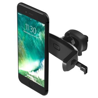 Easy One Touch Mini Air Vent Car Mount Holder Cradle for iPhone 7 7 Plus/ 6s Plus/6s/6, Galaxy S7/S7 Edge, EdgeS6/S6 Edge, Galaxy Note 5, Nexus 6, cellphones & Smartphones - intl