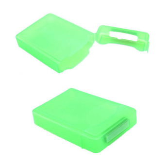 Harga Hard Case Storage Case for 3.5 Inch Hard Disk Drive SATA IDE HDD (Green)