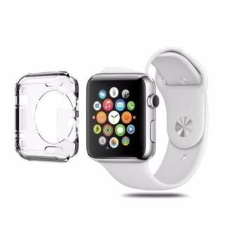 Harga SparkleMe Silicone Transparent iWatch Cover Case for Apple Watch 38mm