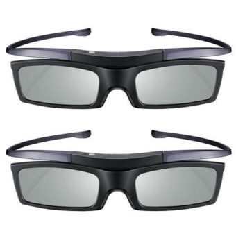 M.A.K 2pc 3D Active Glasses for Samsung Sony 3D TV 4K HD UHD SUHD 3D Active TV Glasses - intl