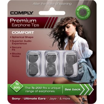 Harga Comply Foam Comfort TS-200 Small Earphone Tips [3 Pairs]
