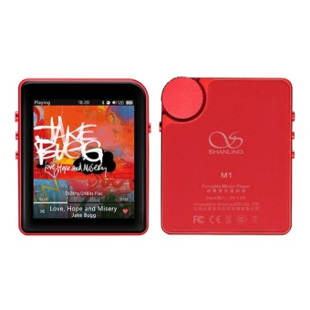 Shanling M1 Portable Music Player Bluetooth Mini Convenient Lossless MP3 Red - intl