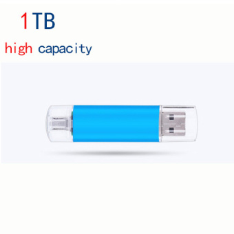 Harga 1TB OTG Dual USB Micro USB Flash Drive U Disk Memory Stick For Android PC