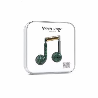 Harga Happy Plugs Earbud Plus Green Marble