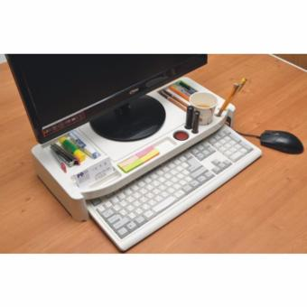 Harga New ACE Monitor Stand (White) - intl
