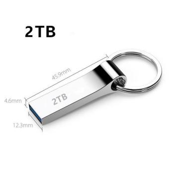 Harga Metal Usb Flash Drive 2TB Plate Usb Flash Pen Drive Stick USB 2.0 U Disk - intl