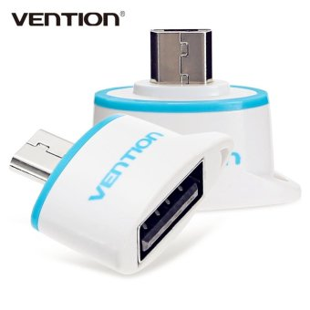 Harga Vention Micro USB to USB 2.0 OTG Data Adapter for Android Smartphone / Tablet - intl