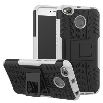 Harga Armor case For Xiaomi Redmi 4X 2 in 1 Silicone & Plastic Shockproof protector with kickstand Holder Stand - intl