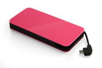 Harga Yell Energy Pocket 6000Mah Power Bank (Micro Usb) Pink
