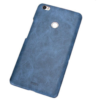 Harga For Xiaomi Mi Max Case Cover PU Leather + PC Back Cover Case for Xiaomi Mi Max Xiaomi Max Phone Shell Cover(Blue)