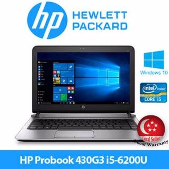 Harga HP Probook 430 G3 Laptop / i5-6200U 4GB 500GB HDD / Win10 Notebook Business NB