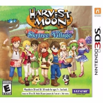 Harga 3DS Harvest Moon Skytree Village