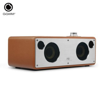 Harga GGMM M3 Retro Wi-Fi/Bluetooth Stereo Wireless Leather Speaker | Featuring 40W Output - intl
