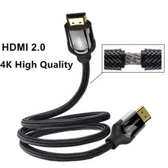 Harga Vention VAA-B05 1m Mamba HDMI Cable Adapter 2.0v 4K 3D Gold-plated Male to Male Nylon Braided HDMI Cable For Laptop Ps3 Xbox HDTV - intl