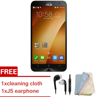 Harga ASUS ZenFone 2 Intel ZE551ML 4GB RAM / 16GB ROM Smartphone (Gold)[Buy 1 Get 1 Freebie]
