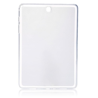 Harga Vanker-DurableMatte Clear Soft TPU Back Case Cover Skin For Samsung Galaxy Tab A 9.7 inch T550 - intl