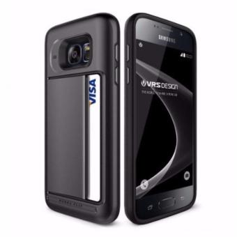 Verus case for Galaxy S7 Edge Damda Clip Dark Silver
