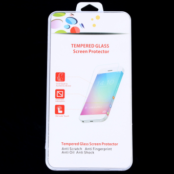 Front Screen Tempered Glass with Rear Plastic Film Protector for PS Vita 2000