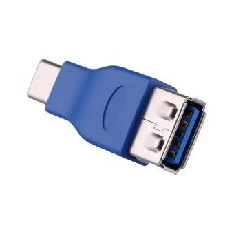 USB 3.1 Type C Male USB-C to USB 3.0 Type A Female OTG Host Adapter Convertor Blue - intl