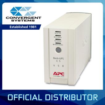 Harga APC Back-UPS CS 650VA (400W), Input 230V / Output 230V, Interface Port DB-25 RS-232, USB BK650AS
