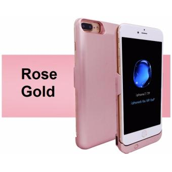 Harga 10000mAH Battery Charger Power Case for iPhone 6 Plus / 6S Plus / iPhone 7 Plus (Rose Gold)