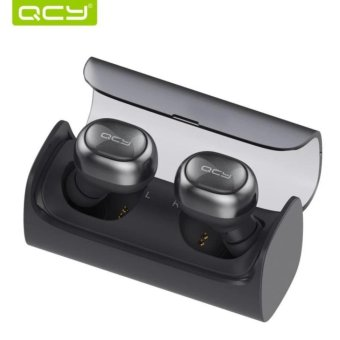 Harga QCY Q29 English Business Bluetooth Earphone Wireless 3D Stereo Headphone - intl