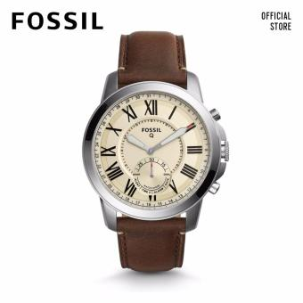 Harga Fossil Q Grant Brown Leather Smart Watch