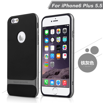 Harga Rock iphone6plus phone shell mobile phone shell silicone protective shell apple s six i6p ultrathin soft drop resistance protective sleeve