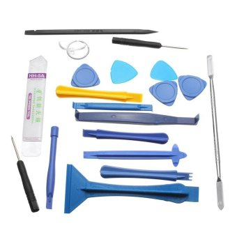 19 in1 Set Kit Opening Repair Tools Disassemble For Iphone Cell Phone Tablet PC - intl