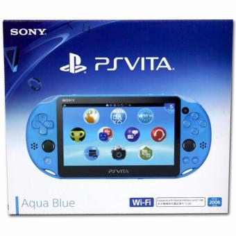 Harga PlayStation®Vita Wi-Fi model Aqua Blue
